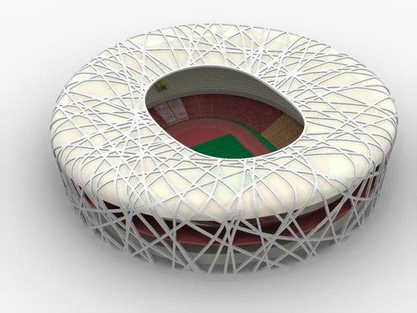 Olympic Stadium.ma 3D Models