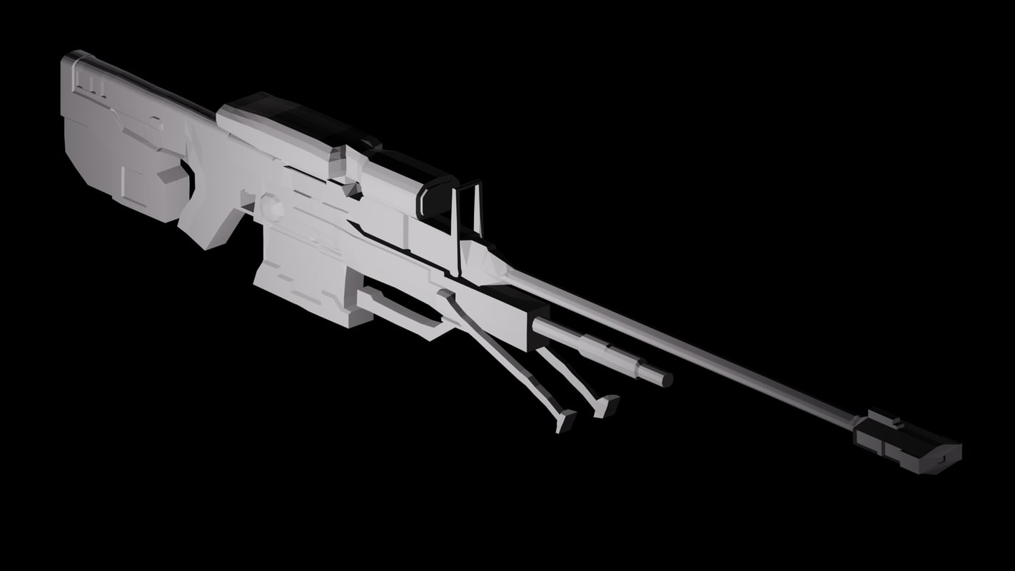 Searched 3d models for halo 3 covenant plasma rifle