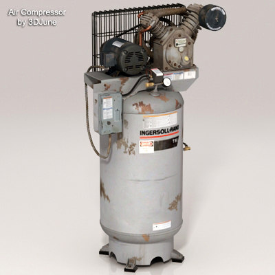 Air Compressor IR-T30 3D Models