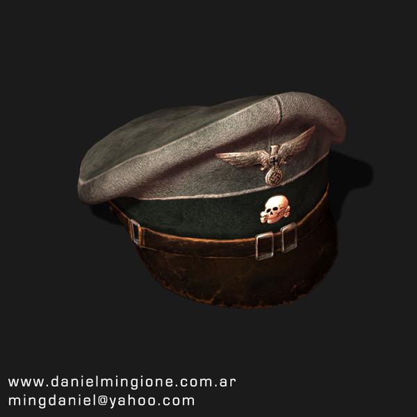 Nazi_Cap.rar 3D Models