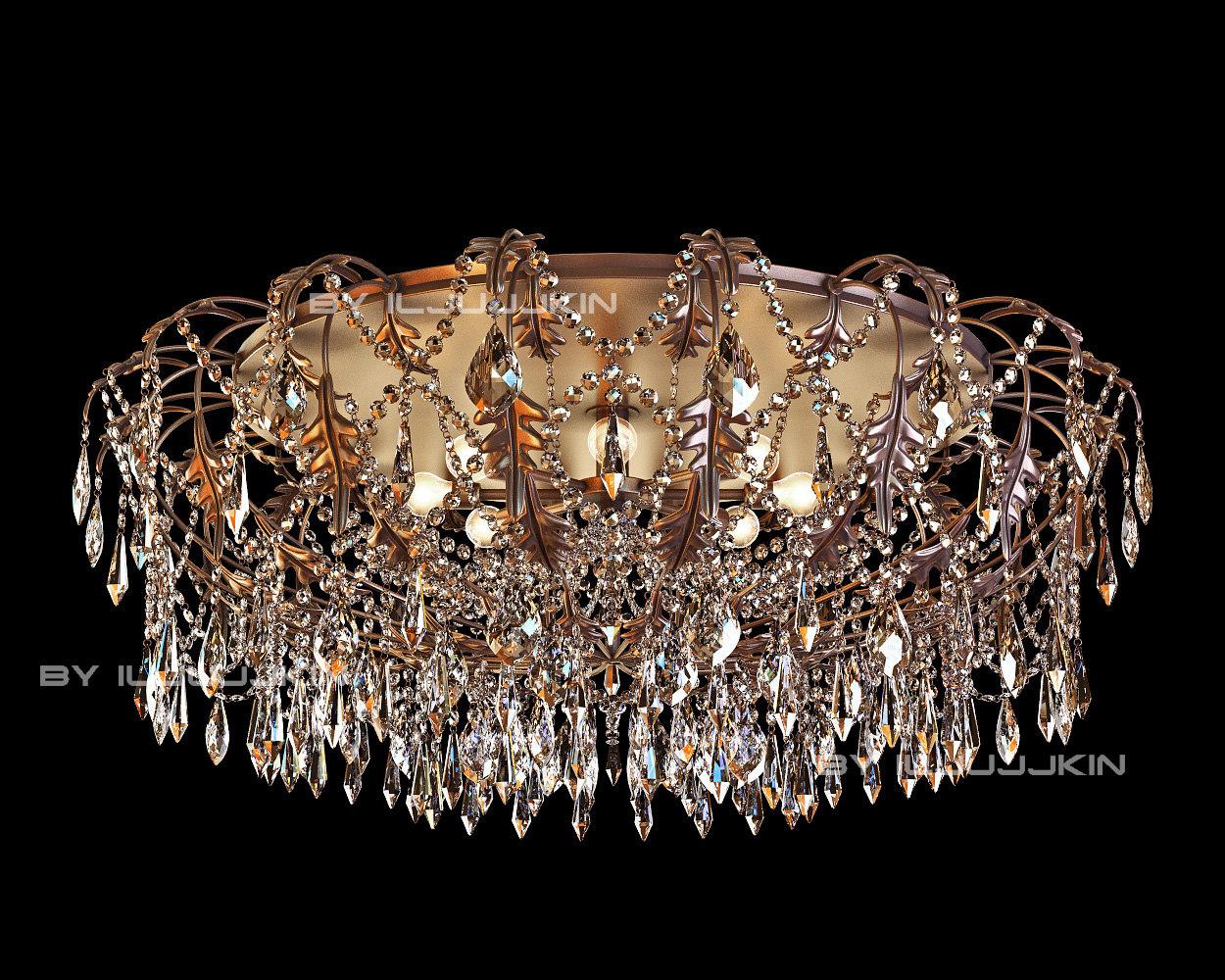 lampadari brilliant : chandelier mm lampadari 6696 3d model