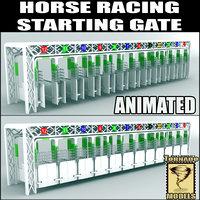 horse track 3D models