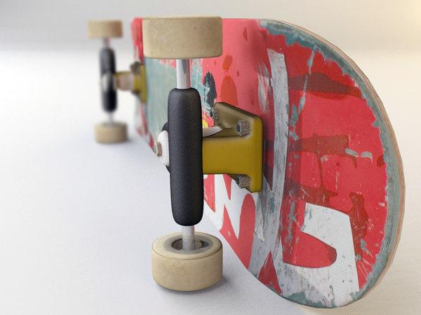 skateboard_f.max 3D Models