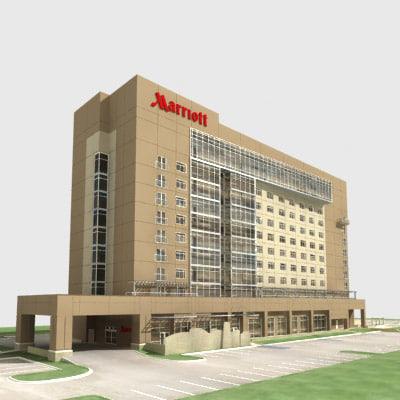 City Hotel 3D Models