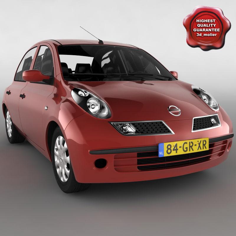 Smart Forfour 2006 3d Model: Nissan Micra 3d C4d