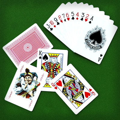 Poker play cards 3D Models