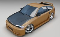 CRX 3D models