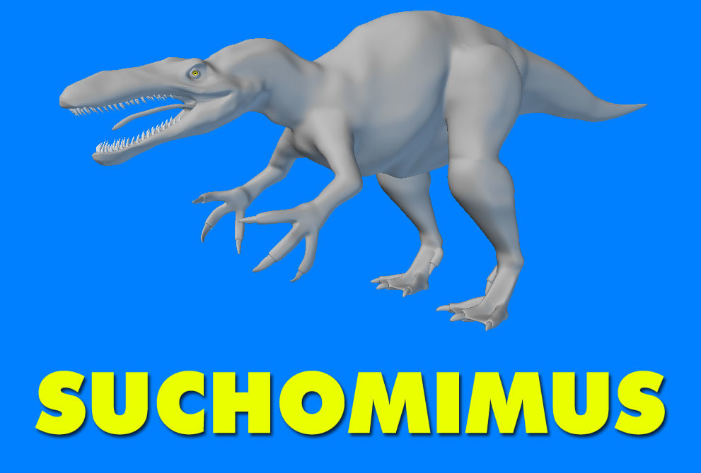 Suchomimus Dinosaur