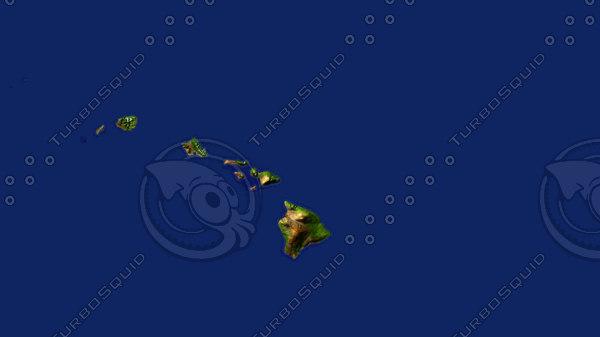 Hawaii 3D Models
