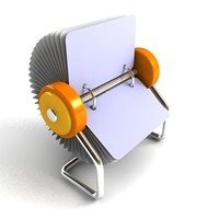 Rolodex 3D models