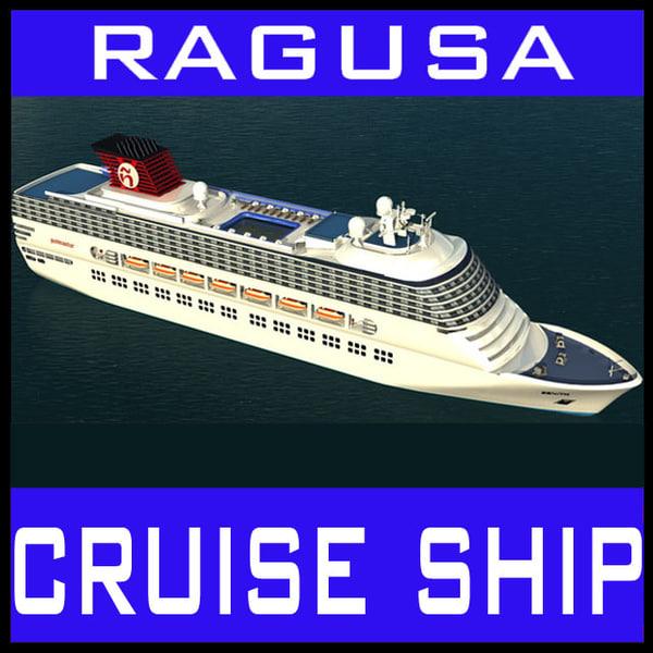 Zenith Cruiser Passenger Ship Texture Maps