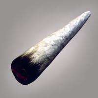 marijuana Joint 3D models
