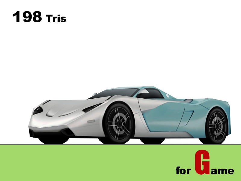 marussia b1 cars 3d model