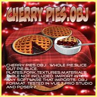 Cherry Pie 3D models