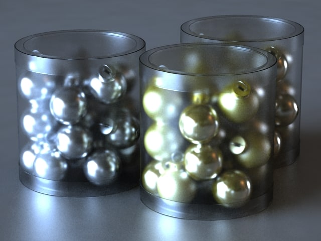 CHRISTMAS TREE GOLD MINI GLASS BALL ORNAMENTS V001.jpg
