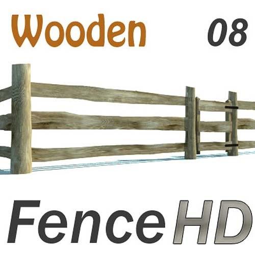 Agricultural fence 3D Models