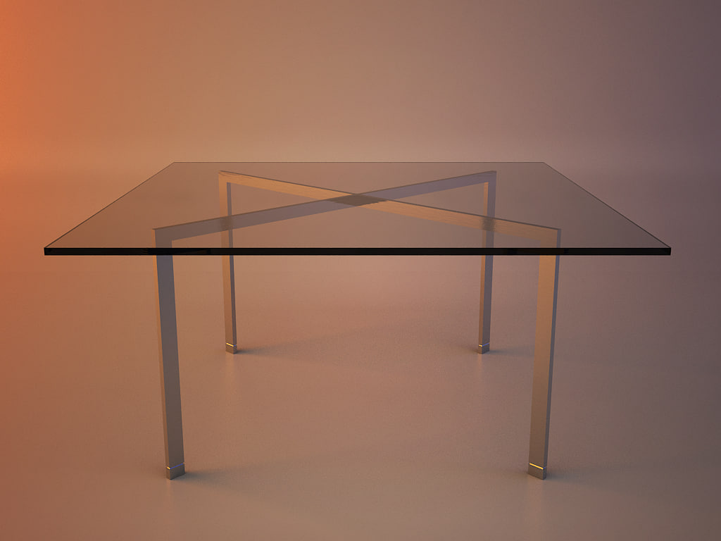 Tugendhat Table - Mies van der Rohe