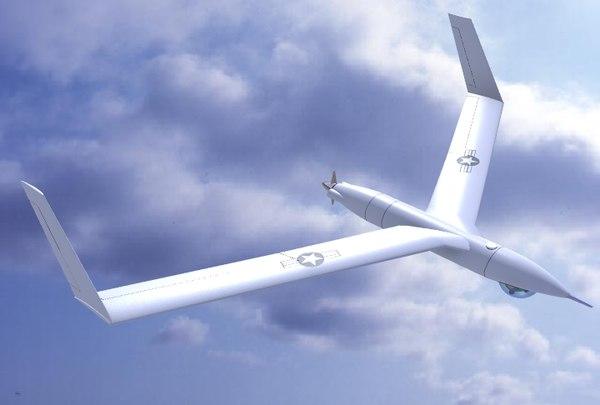 ScanEagle UAV 3D Models