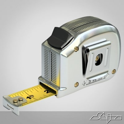 Tape measure 3D Models