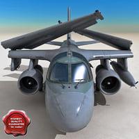 S-3 Viking 3D models