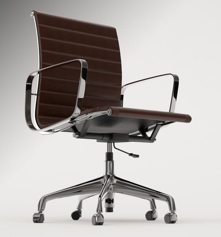 Eames office chair 3d model - Eames office chair original ...