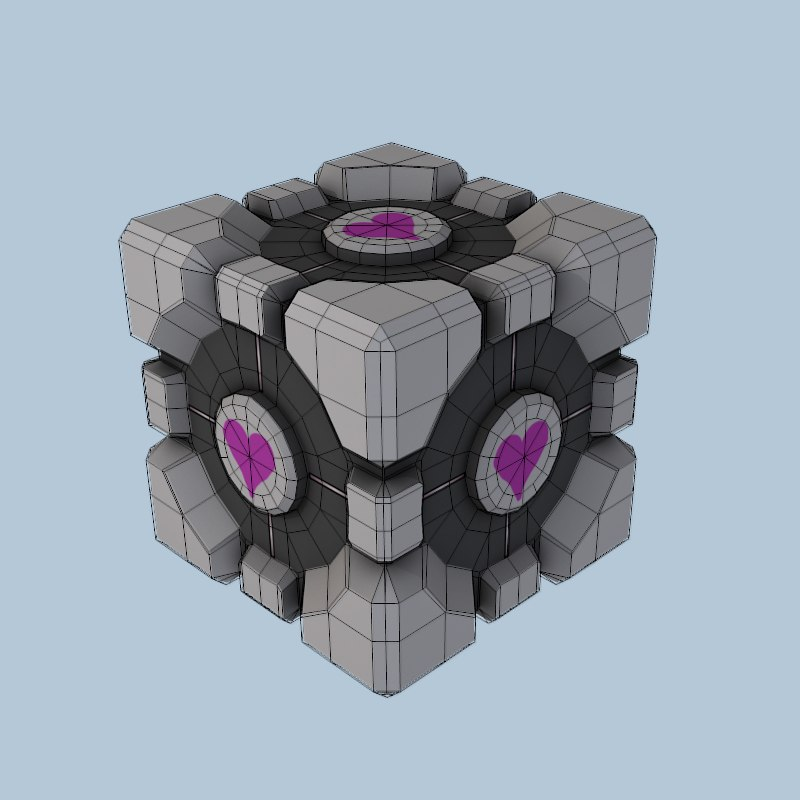 how to make a texture cube