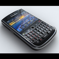 Blackberry Tour 9630 3D models