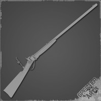 Long Rifle 3D models