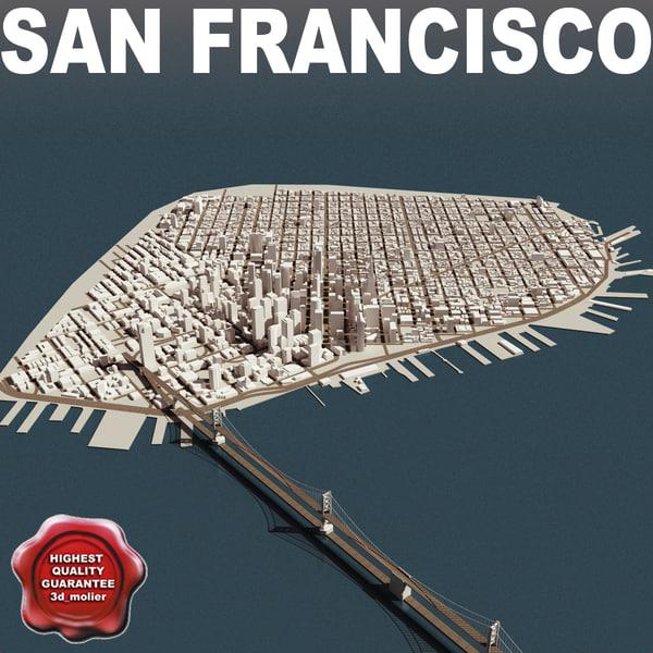 San Francisco Town 3D Models