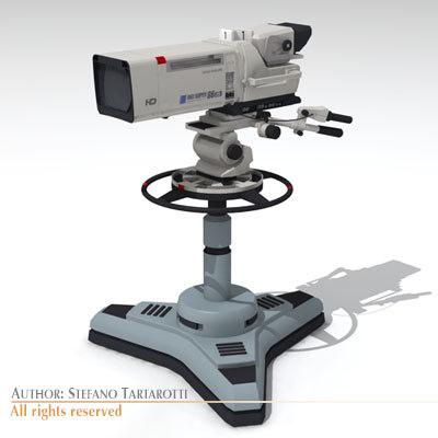 Sony HDC 1000 3D Models
