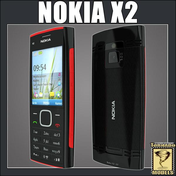 Nokia X2 3D Models