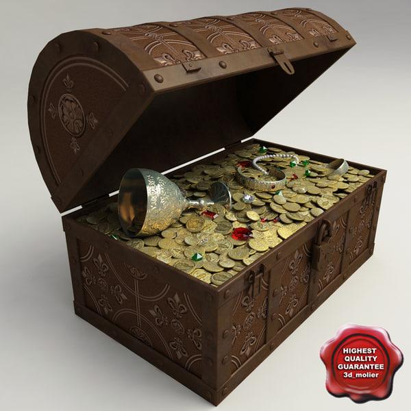 Treasure Chest 3D Models