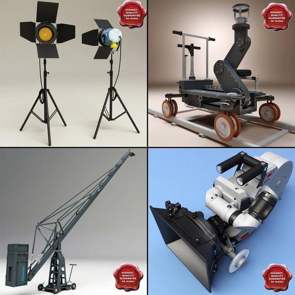 Video Collection V1 3D Models