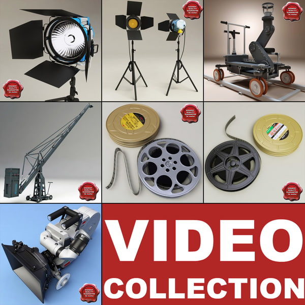 Video Collection V2 3D Models