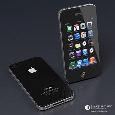 IPhone 4 3D Models