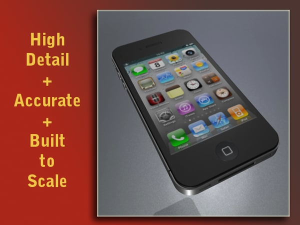 Iphone 4G 3D Models