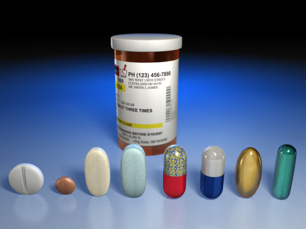 Medication 3D Models