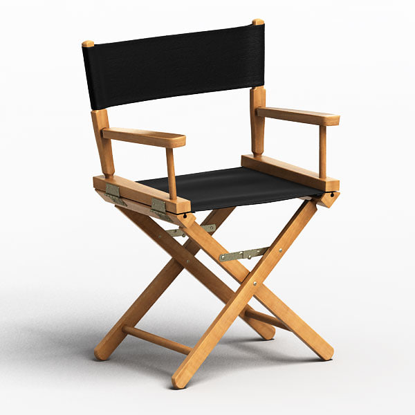 Director Chair 3D Models