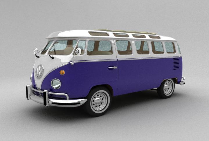 Old Hippie Bus