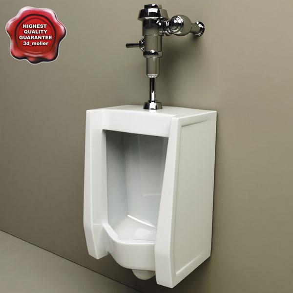 Urinal V2 3D Models