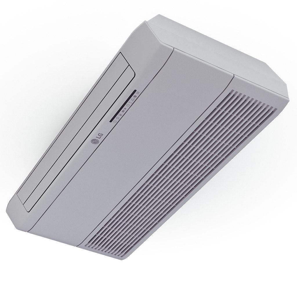 air conditioner ceiling lg 3d c4d #443B48