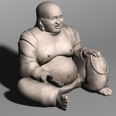 Laughing Buddha 3D Models