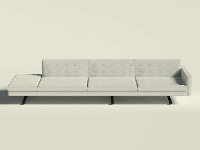 Poltrona Frau - Kennedee - 3 Seater Sofa 1 arm dx bench sx.jpg