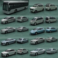 Prius V 3D models