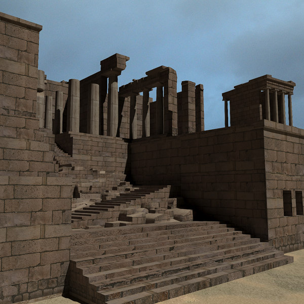 Ruins of the Propylaea 3D Models