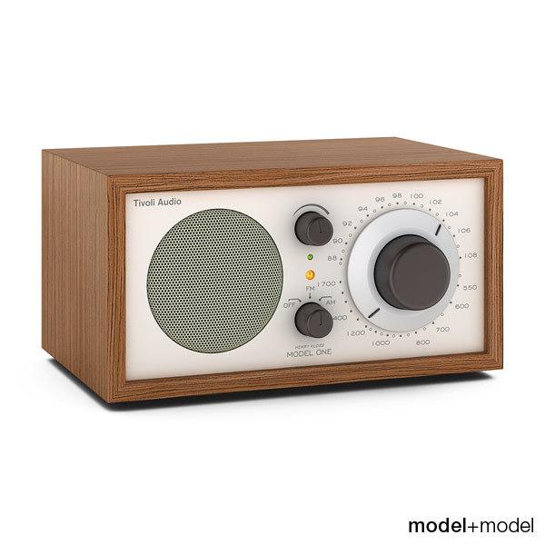 Tivoli audio Model One radio 3D Models