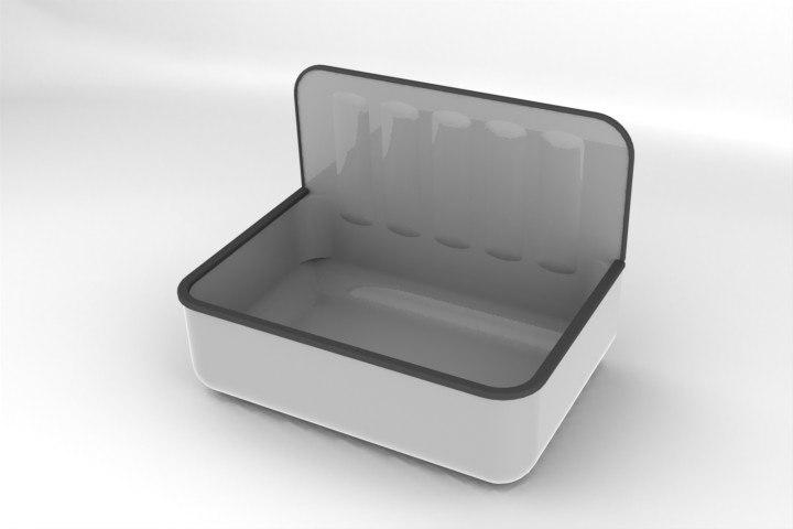 garage sink 3d model