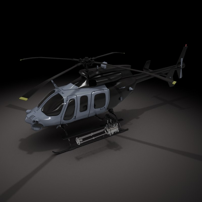 Bell ARH Helicopter