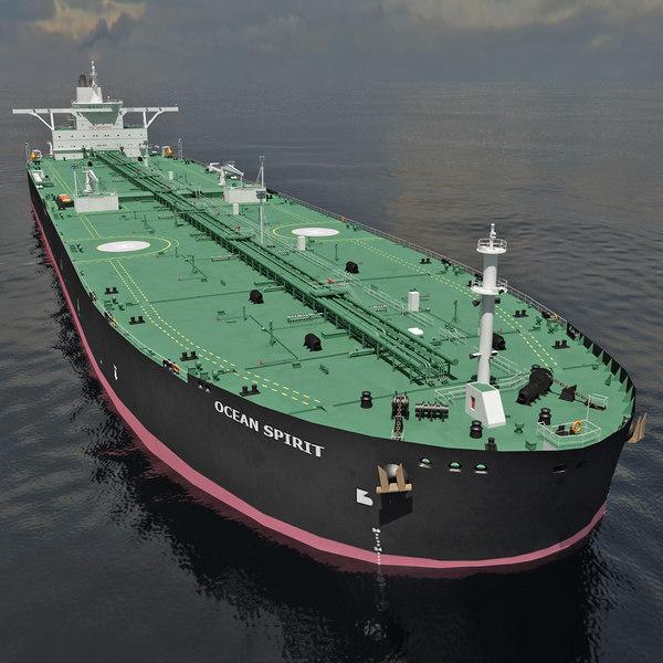 Oil Tanker Ship 3D Models