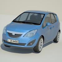 Meriva 3D models